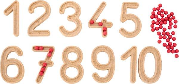 Set trasare cifre cu bilute 5
