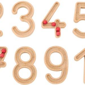Set trasare cifre cu bilute 14