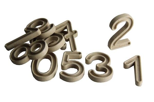 Set trasare cifre cu bilute 10