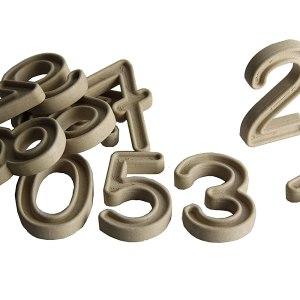 Set trasare cifre cu bilute 19