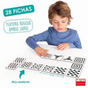 Domino tactil - vizual 9