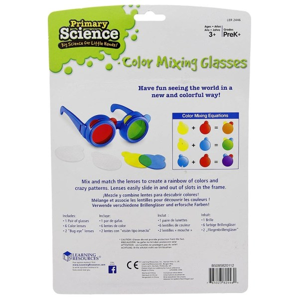 Ochelari pentru mixarea culorilor 7