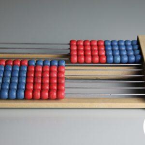 Numaratoare din lemn cu 100 de bile 9