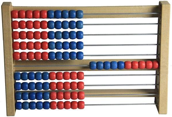 Numaratoare din lemn cu 100 de bile 3