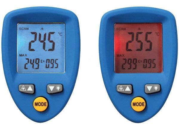 Termometru digital cu radiatii Infrarosii 4