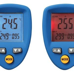 Termometru digital cu radiatii Infrarosii 9