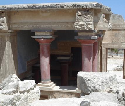 Palacio de Cnosos (fuente: wikipedia)
