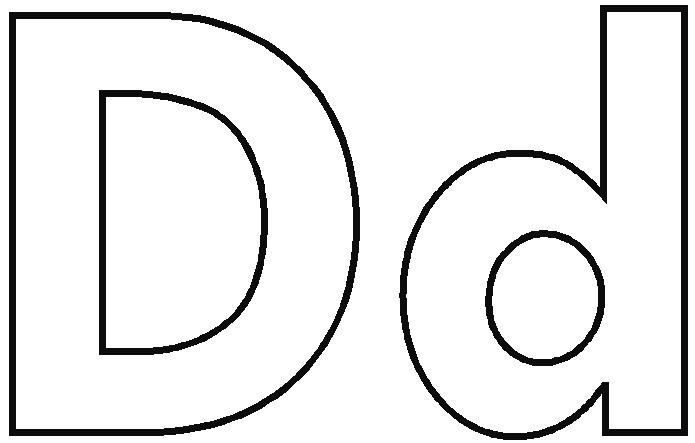 coloring pages alphabet letters letter d1 jpg