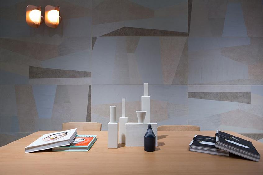"""alt=""""Ceramica Bardelli al Cersaie 2017 - progetto di Studio Pepe - collezione Palladiana"""""""