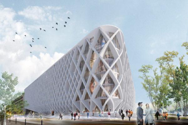 "alt=""quandoarchitetturaarteedesigncelebranoillibro-architettura-lubiana-biblioteca-libroaperto-cvdbarquitectos"""