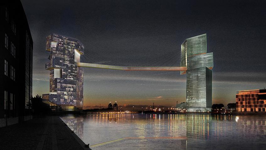 "alt=""Ponti e architettura - Steven Holl - Copenhagen - Danimarca"""