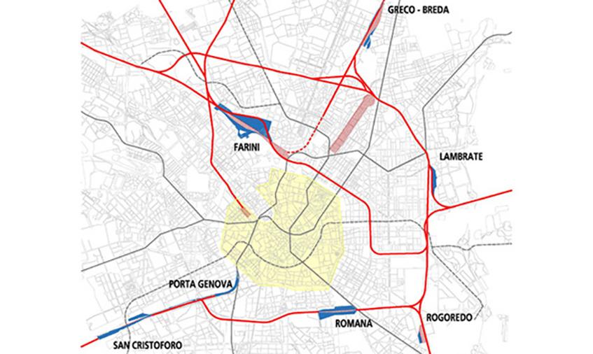 "alt=""Circle line Milano - Ex-ferrovie - Mappa"""