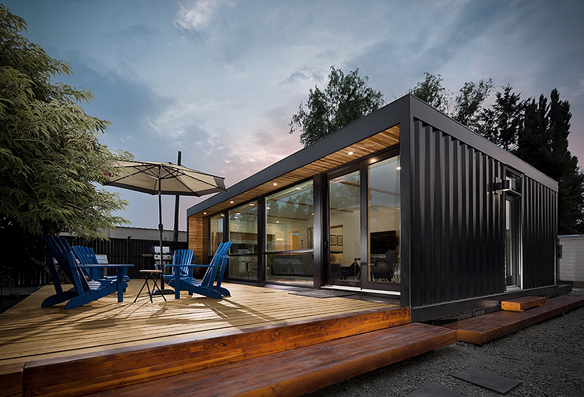 "alt=""Honomobo - Shipping container house"""