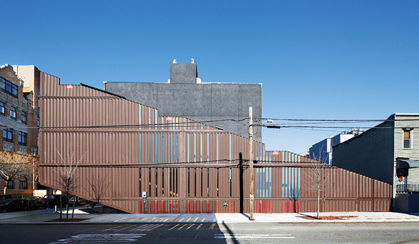 """alt=""""Shipping container house - Williamsburg Brooklyn - New York - Architettura - Carroll house"""""""