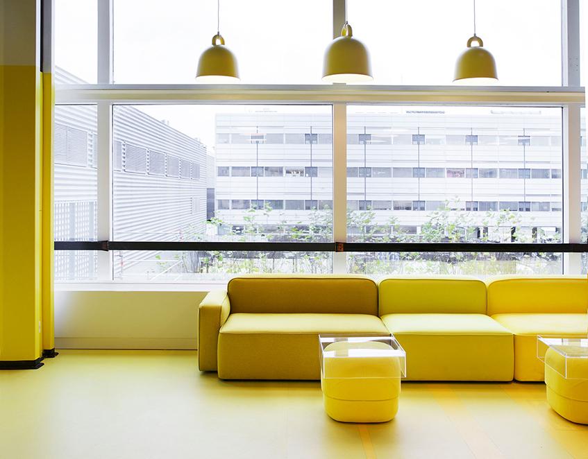 """alt=""""Design store - Normann Copenhagen -Styling yellow"""""""
