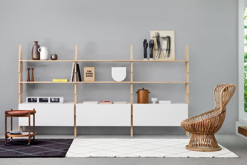 "alt=""Librerie - Agape casa - Artedomus - Cavalletto - Mangiarotti - Bookshelf"""