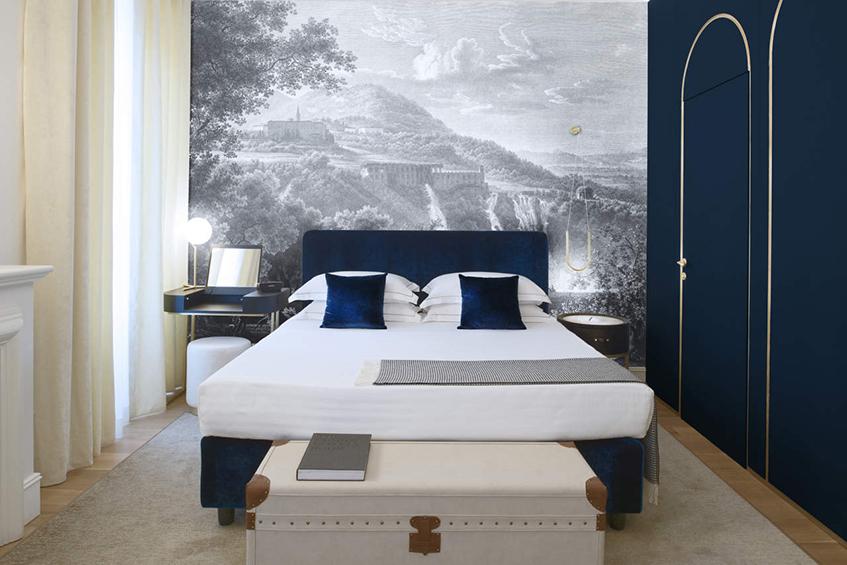 """alt=""""Design hotel - Elizabeth Unique Hotel Roma - Junior Suite"""""""