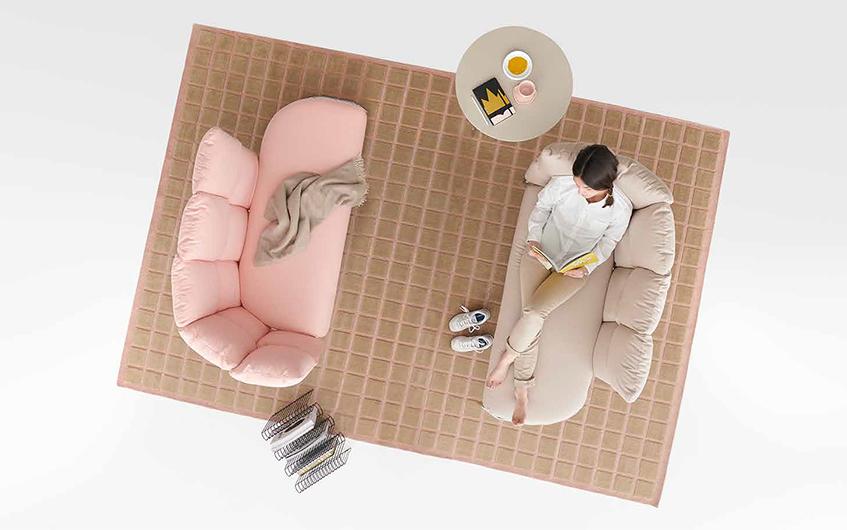 "alt=""Selezionati da Materiali e design - Office design - Undecided di Manerba - Living"""