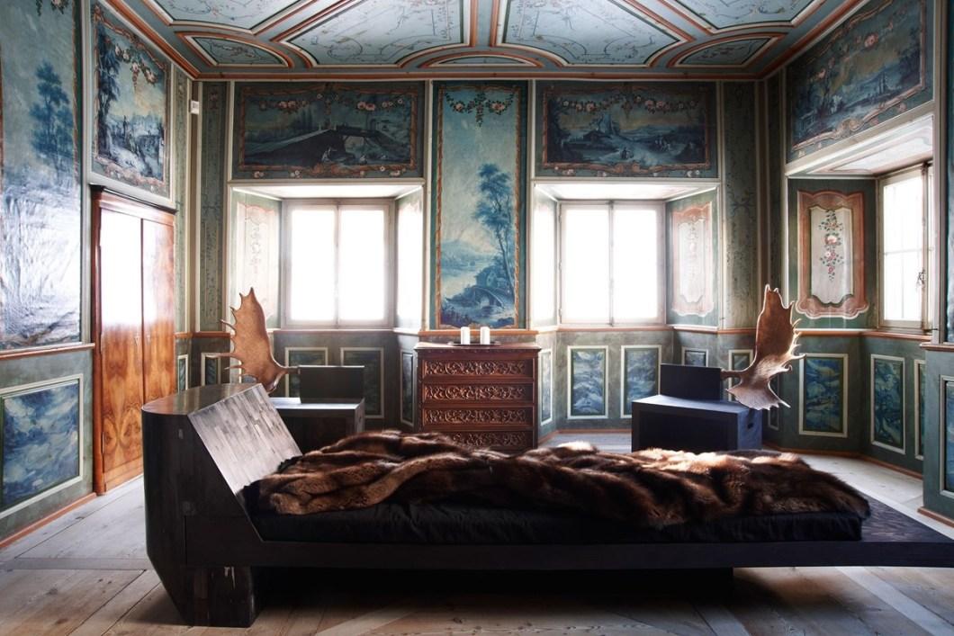 "alt=""Settimana bianca tra storia e design - St. Moritz - Mostra itinerante Nomad"""