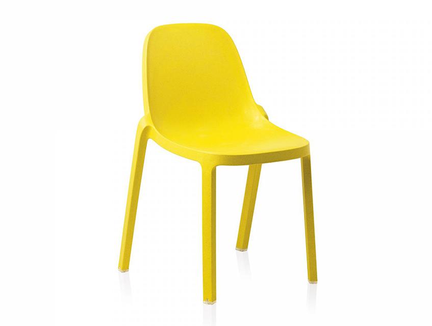"""alt=""""Giallo il colore dell'estate 2019 - Bloom chair di Emeco - Philippe Starck"""""""