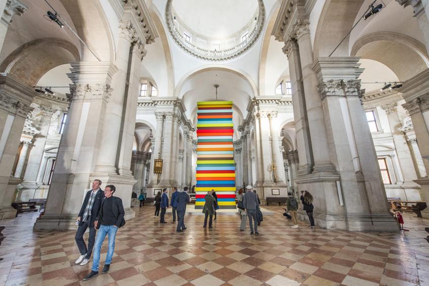 """alt=""""Mostre d'arte e architettura per l'estate - Sean Scully - Human - Venezia - Biennale d'arte"""""""
