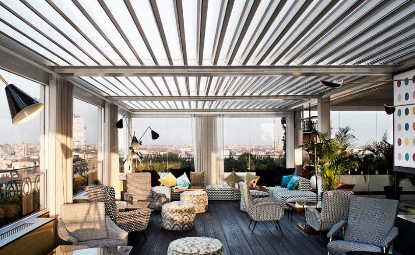 "alt=""Rooftop bar - Aperitivo Milano - Terrazza 12"""