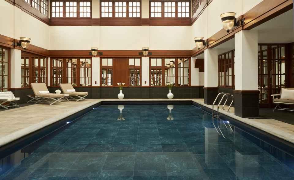 Nach dem Umbau verfügt das Savoy über einen grosszügigen Spa mit Therapieräumen und Pool.