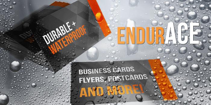 Water Resistan Business Cards