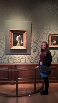 'Girl with the pearl earring' portrait at The Hague