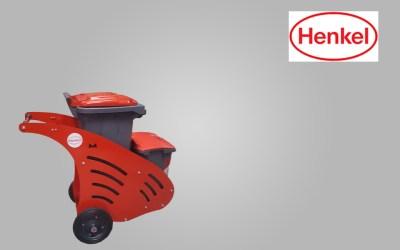 Αποστολή στην Henkel ένα χειραμαξίδιο οδοκαθαριστών 80lt