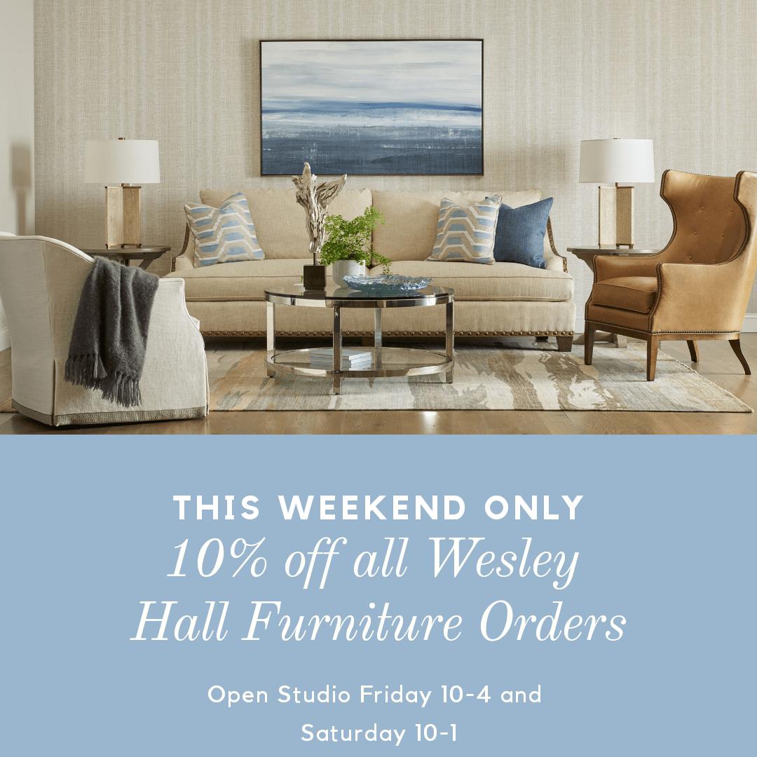 Wesley Hall Furniture 10% Off Weekend
