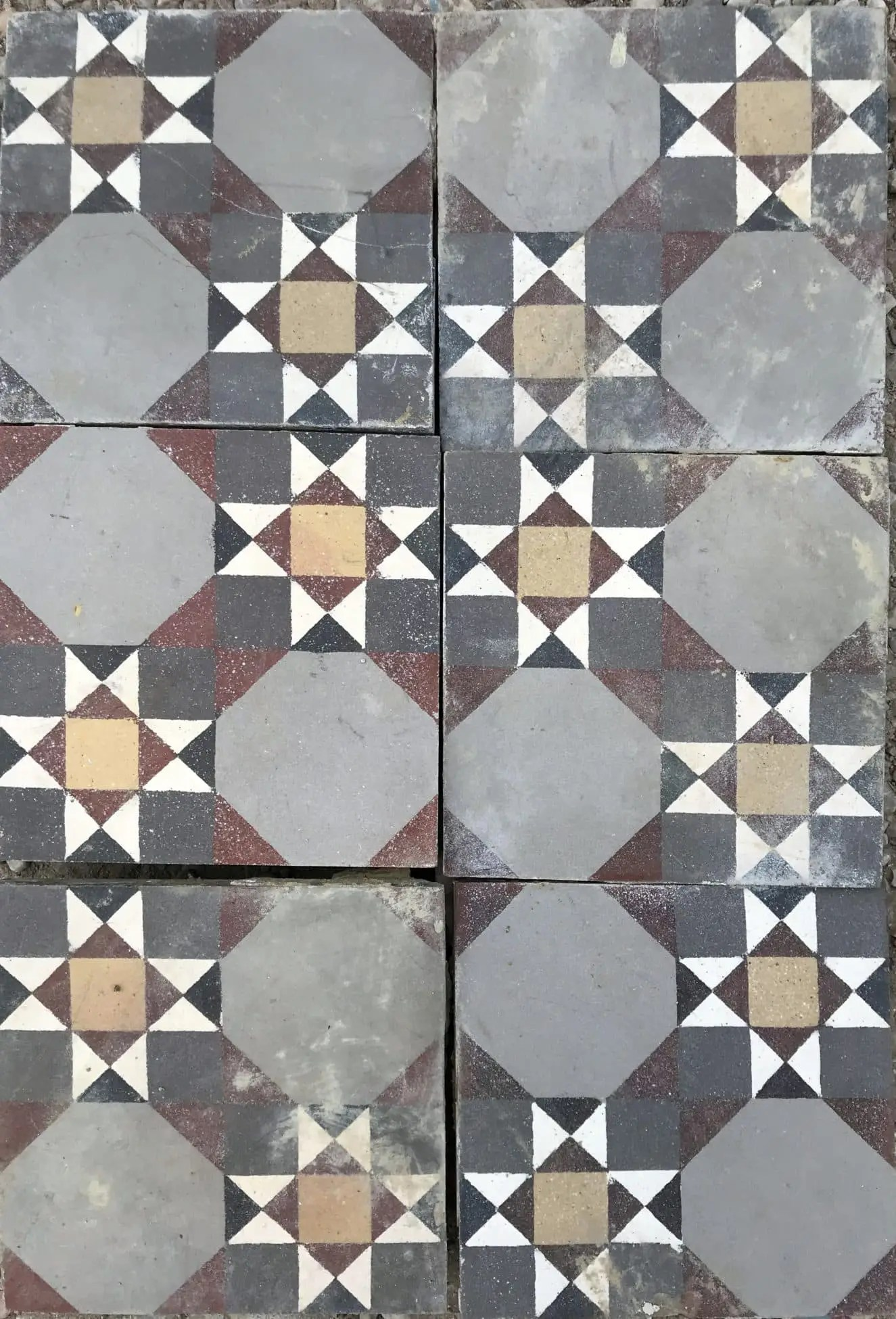 carreaux ciment anciens