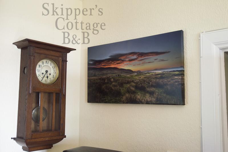 Francesco Perratone art at Skipper's Cottage, Kilchoan, Ardnamurchan, Scotland