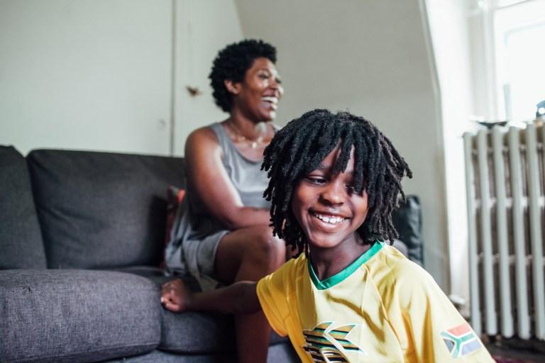 Elmeka Henderson, black mom