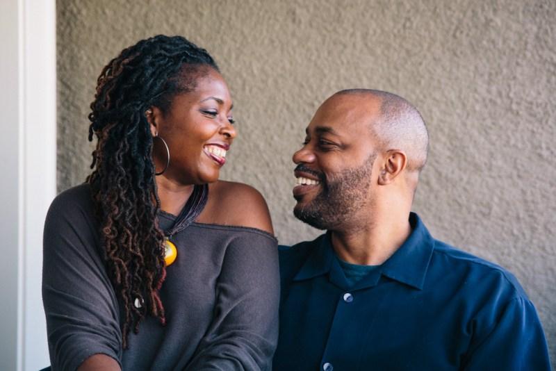 Denene Millner and her husband Nick Chiles