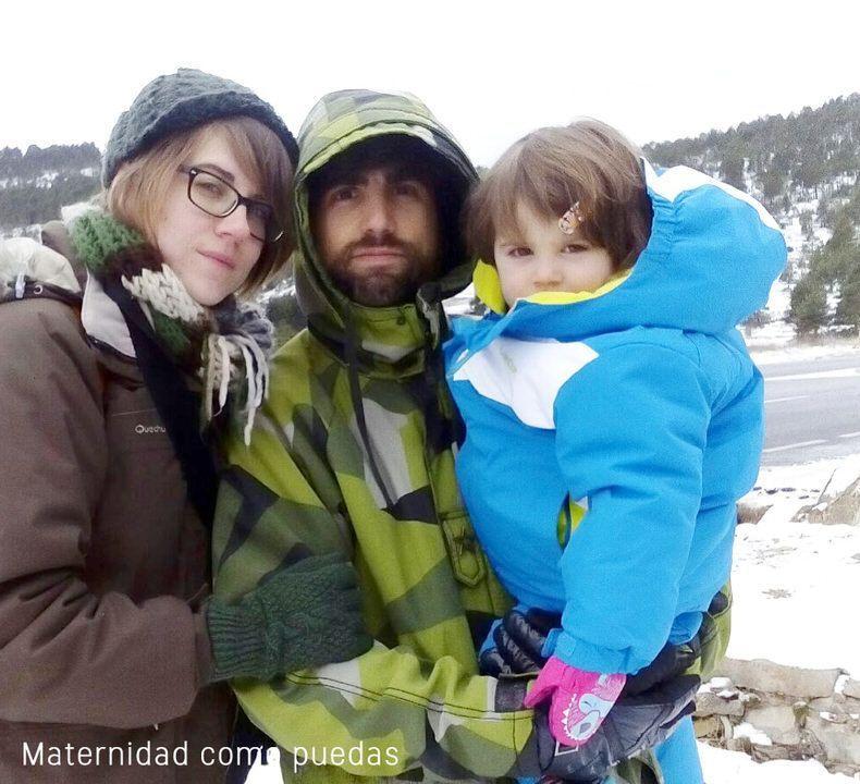 familia-nieve