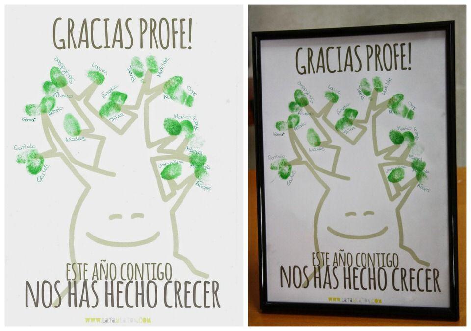 arbol-firmas-ideas regalo profesoras