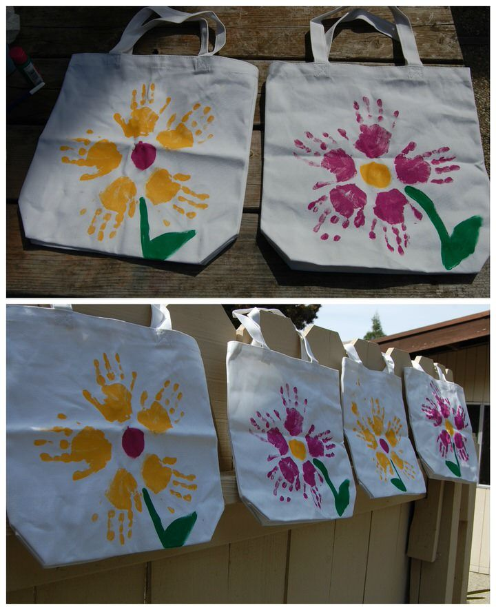 ideas regalo profesoras totebag flor