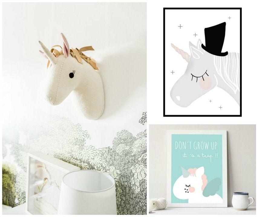 unicornios-decoracion-cuartos-infantiles