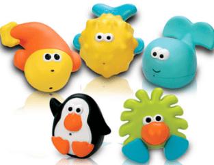 Brinquedos para banho