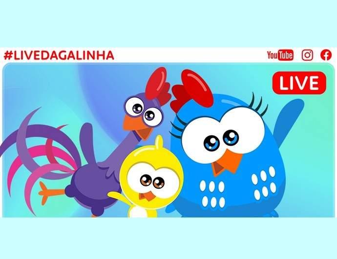 Live Galinha Pintadinha