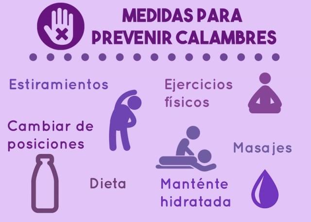 prevenir calambres