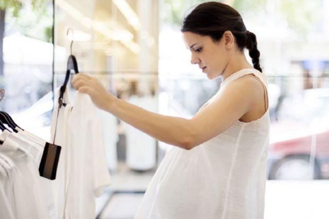 ropa holgada embarazo