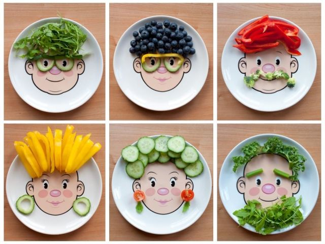 alimentos ninos