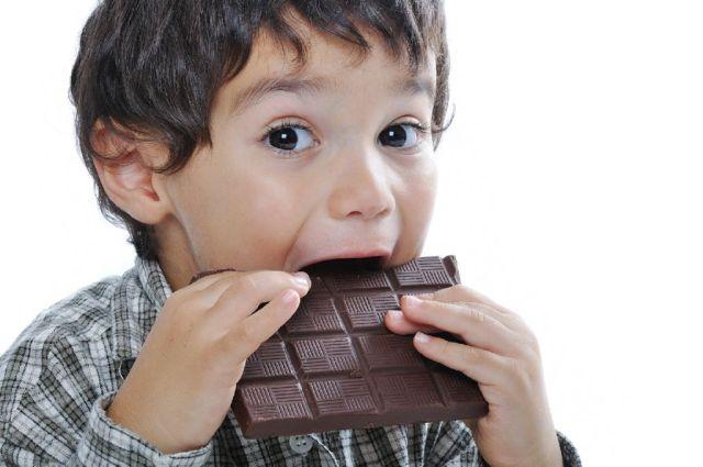 chocolate para ninos