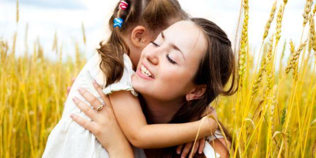 abrazar a tu hijo