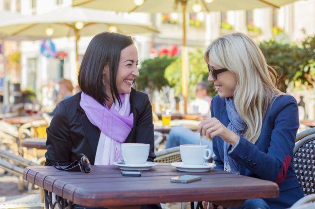 cafe con amigas