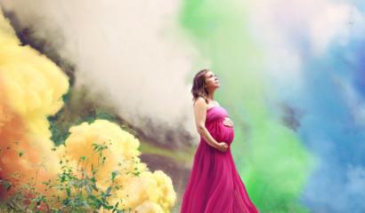 Después de 6 pérdidas, esta madre se toma esta hermosa fotografía de embarazo