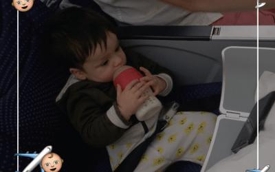 ✈️ Tips y Datos Para Viajar Con Bebé en Avión
