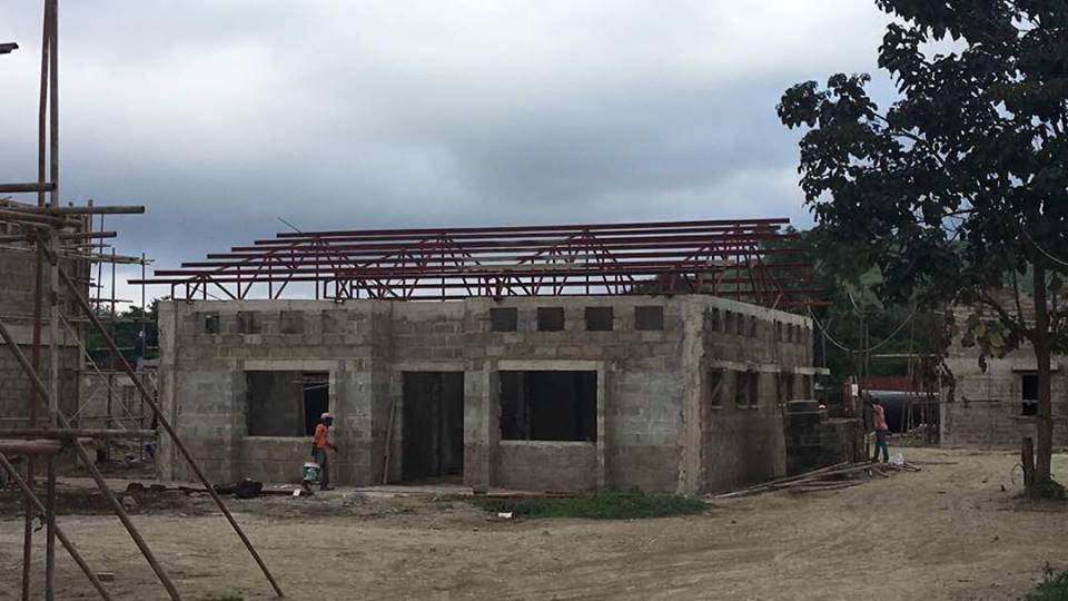 The Hostel Gets a Roof